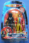 The Sixth Doctor & Stealth Cyberman